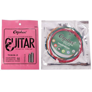 Orphee Color Copper Acoustic/Electric/Classic Guitar String
