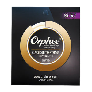 Orphee Silver Line Nylon Classical Guitar String SC55 SC57