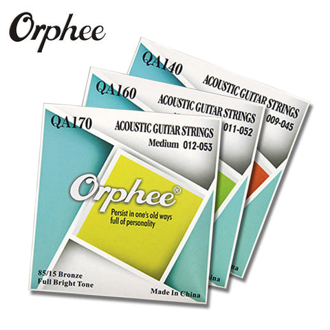 Orphee 85/15 Phosphor Bronze Acoustic Guitar String
