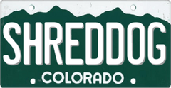 SHRED DOG in Colorado