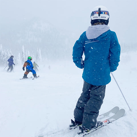 safety on the slopes with kids