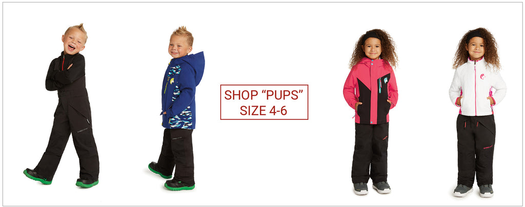 "shop younger (""pups"") kids size 4-6"