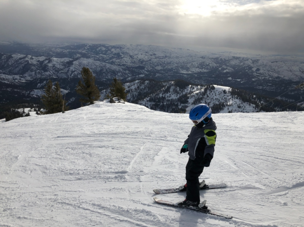 Bogus Basin Little Skier