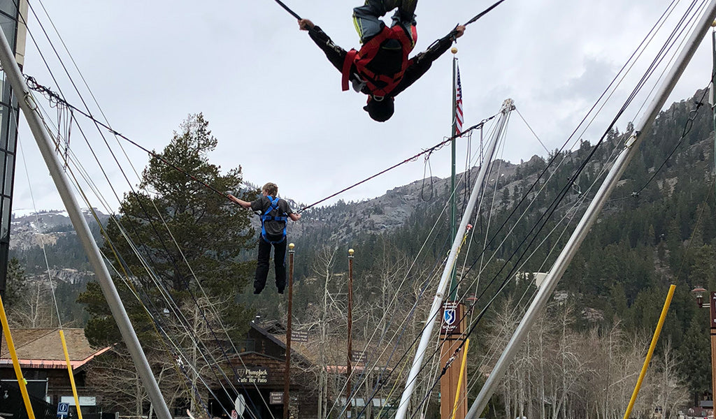 bungee jumping at squaw valley village