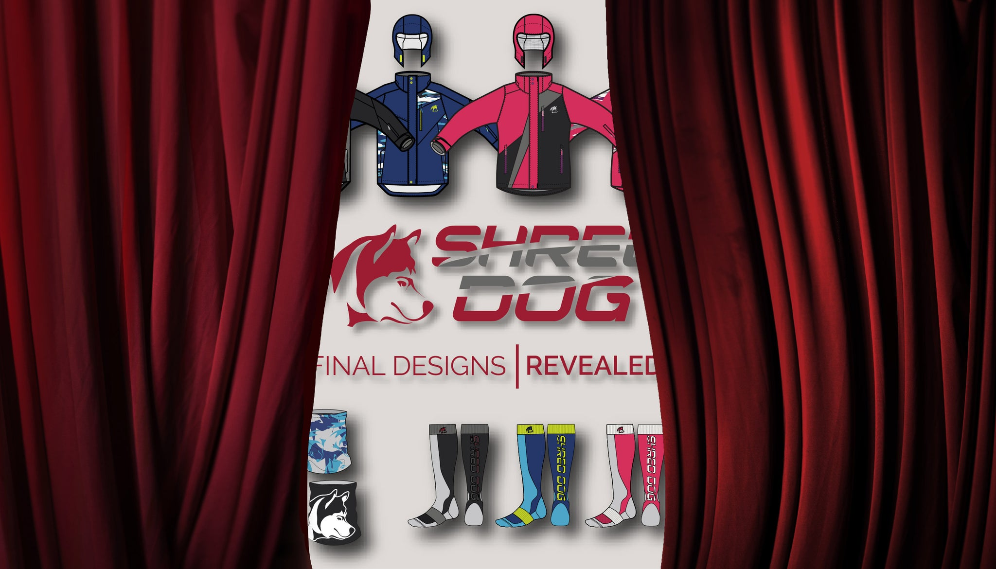 SHRED DOG Design Reveal