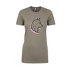 Womens Logo Blurr T-Shirt