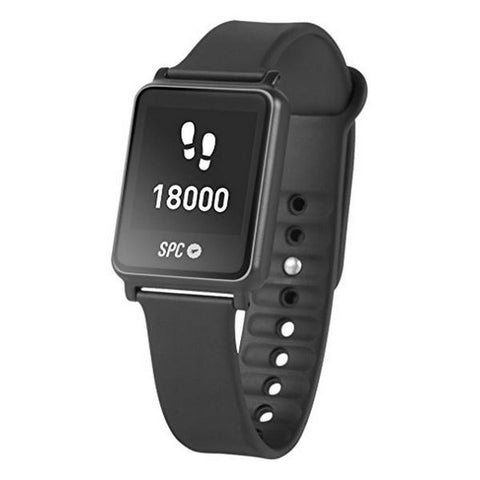 "Smart Watch with Pedometer SPC 9616T 1.28"" Bluetooth 4.0 Titanium"