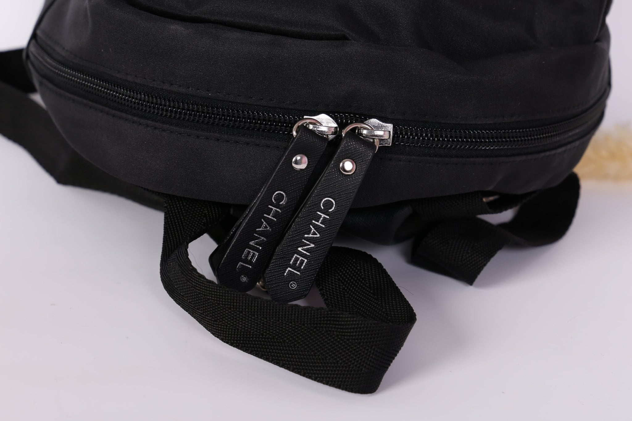 3898a7286a115c ... Gabrielle Chanel Black Backpack Makeup Rucksack Travel Gym Duffle Bag  Small Vip Gift - PARTYMOOD ...