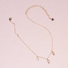 Caph 14K Charm Chain Choker Necklace