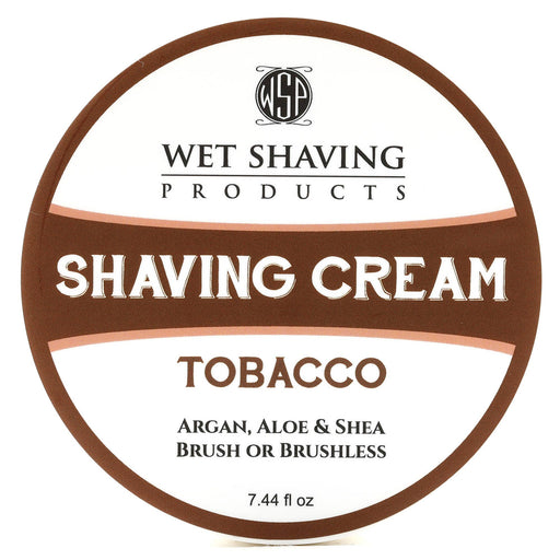 Wet Shaving Products - Shave Cream - Tobacco - Alonzo's Oil