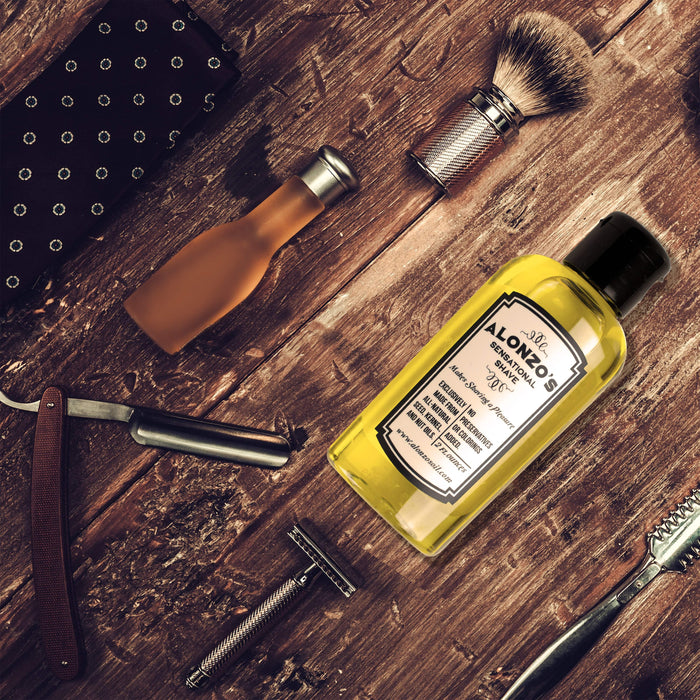 Alonzo's Shaving Oil - Alonzo's Oil