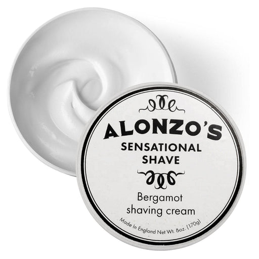 Alonzo's Sensational Shave Cream - Alonzo's Oil