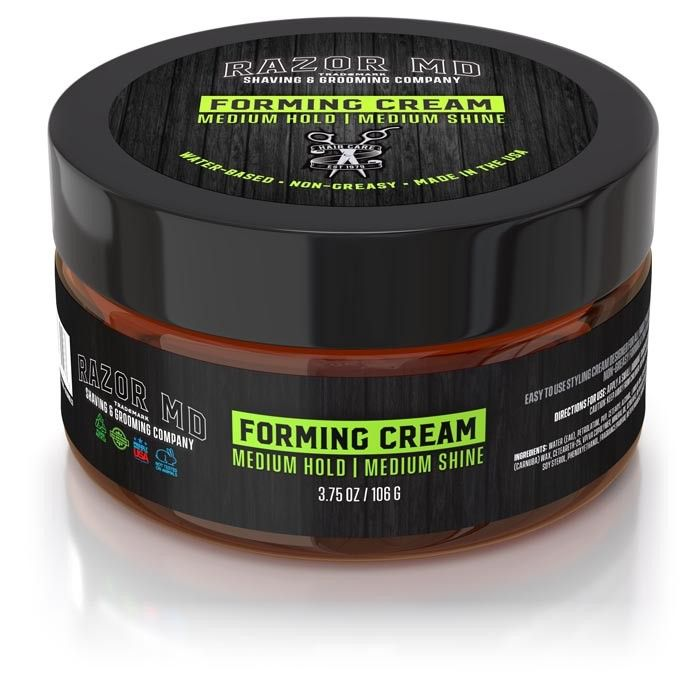 Razor MD - Forming Cream 3.75oz – Hair Styling Product
