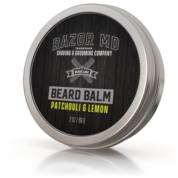 Razor MD - Beard Balm 2oz Patchouli & Lemon