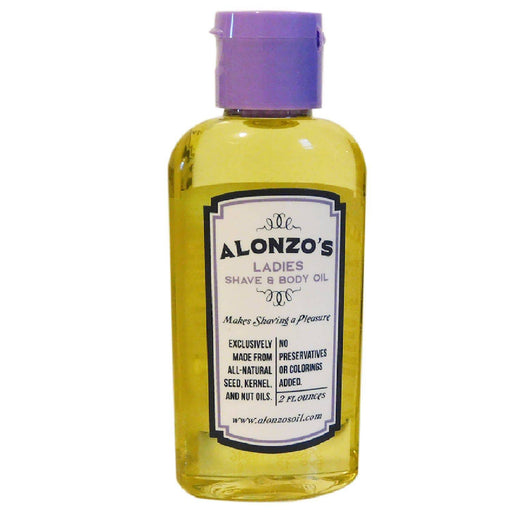 Alonzo's Sensational Natural Shaving Oil for Women - Alonzo's Oil