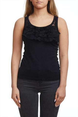 Camisole with rustle