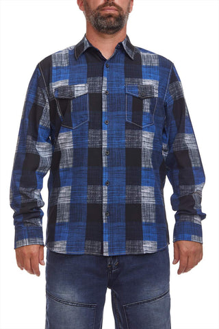 Drip-Dry Plaid shirt