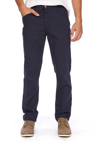 PIERRE-TW Stretch straight leg twill pant