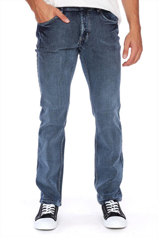 PIERRE Stretch denim slim leg jean
