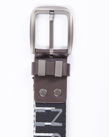 Printed fabric belt
