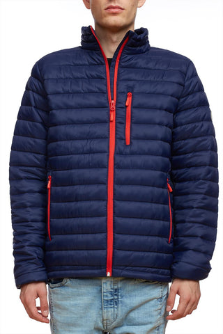 Warm lightweight puffer jacket