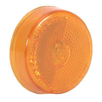 "Sealed 2-1/2"" Marker Light: Reflex Lens: Light Only - Amber or Red"