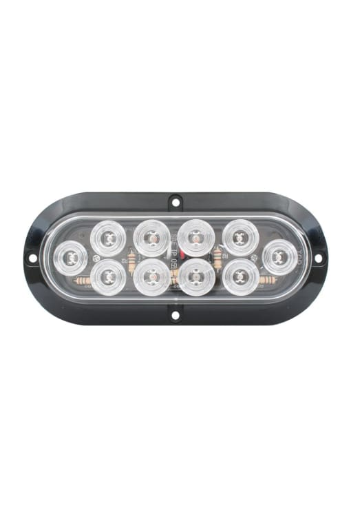 10 Diode Led Light W/bezel - Transportation Safety