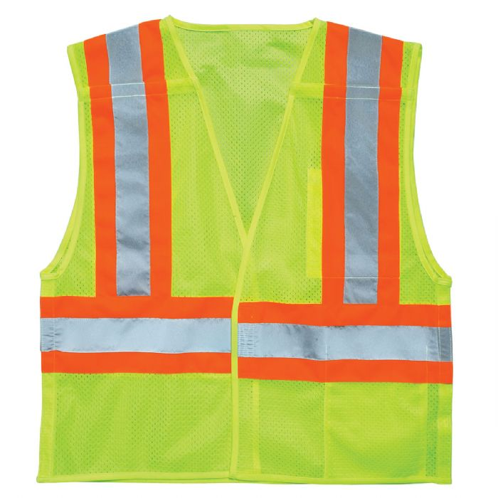 ML KISHIGO Ultra-Cool Mesh Breakaway Vest, Lime