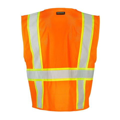 ML KISHIGO Ultra-Cool Multi-Pocket Vest, Orange