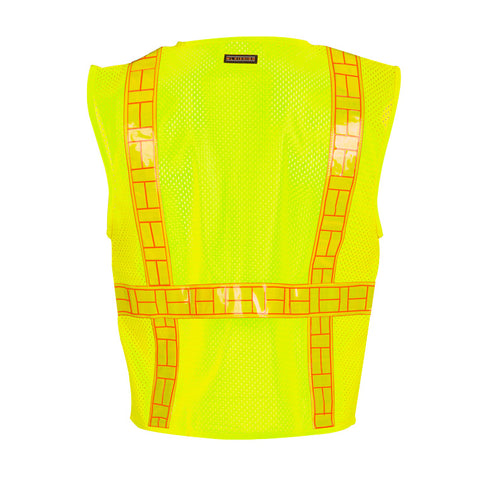 ML KISHIGO ORALITE® Solid Front with Mesh Back Vest