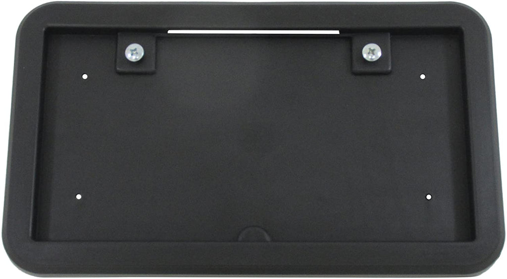 Black Plastic License Plate bracket with Light