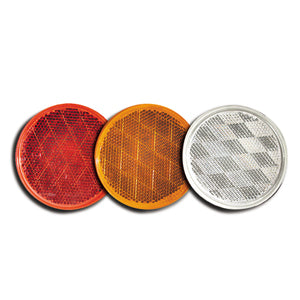 "3"" Stick-On Reflector (PACKAGE OF 10)"