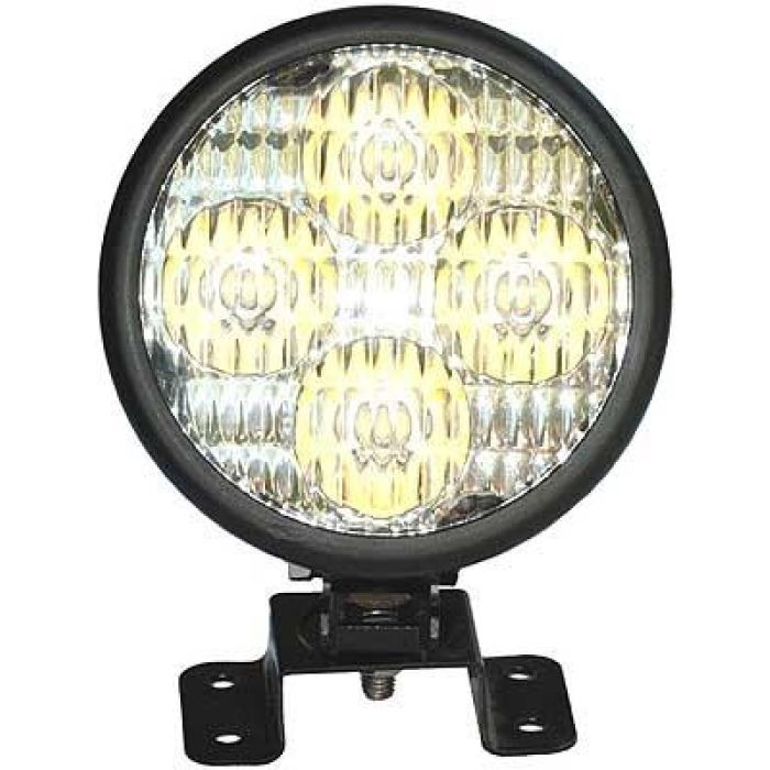 4 Round Led Work Light 10W Diodes Flood Or Spot - Transportation Safety