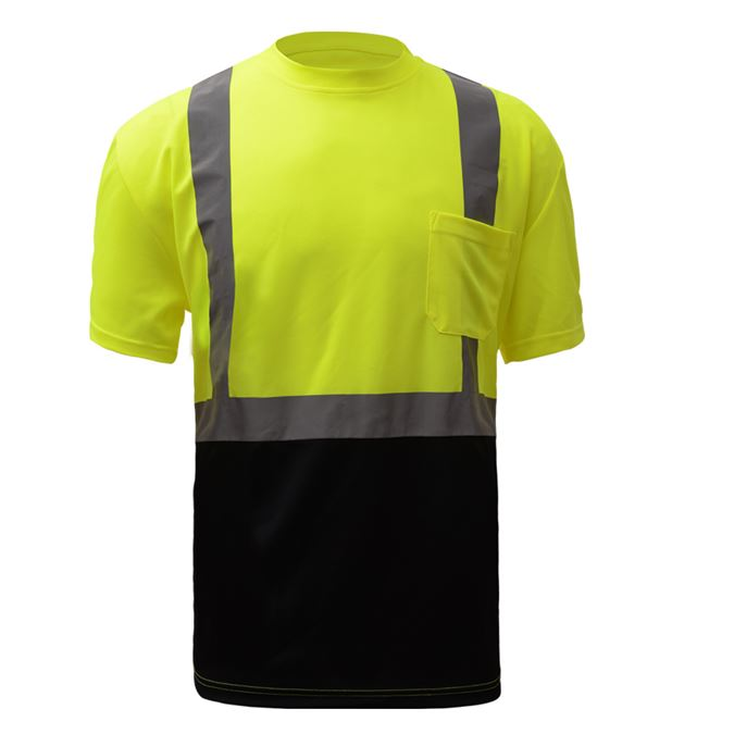 GSS Class 2 Safety T-Shirt With Black Bottom