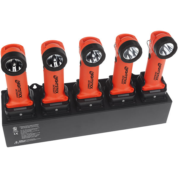 BAYCO NIGHTSTICK 5568-CHGRAC5 5-Bank AC Charger - Rechargeable INTRANT™ Angle Lights