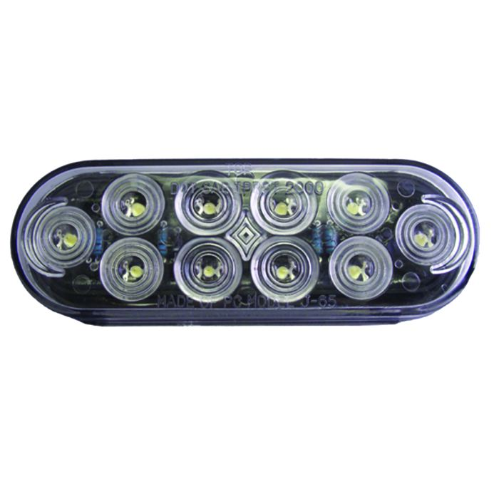 6 Led Back-Up Light - Only - Clearance