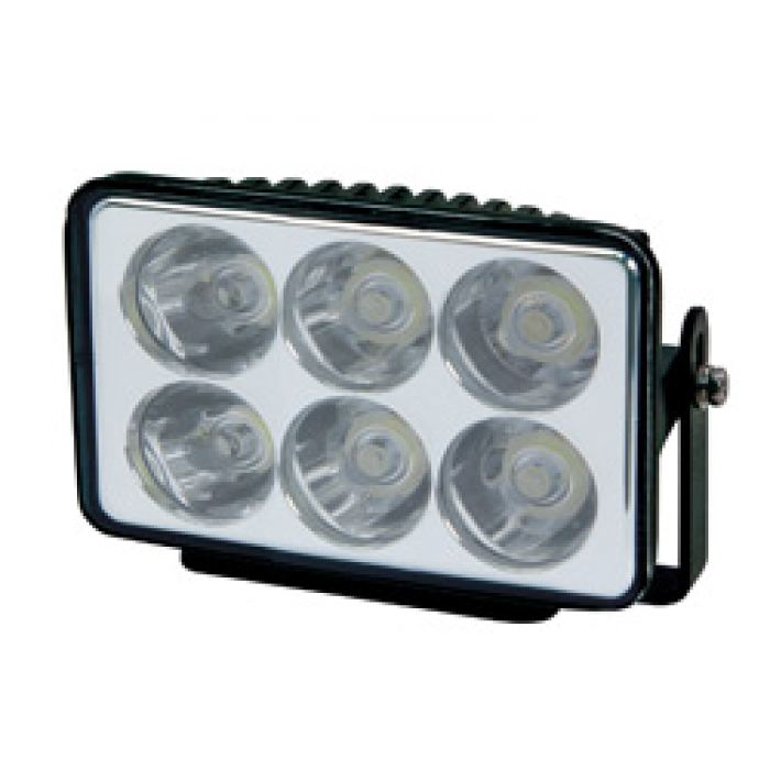 6 Led Spot Light W/ Bracket - Transportation Safety