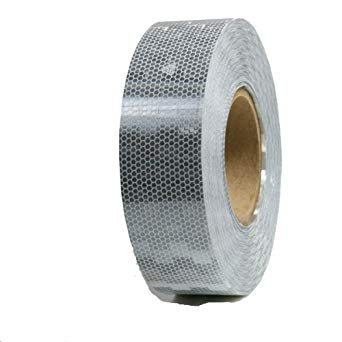"Avery Conspicuity Reflective Tape 3"" x 150' WHITE/SILVER"