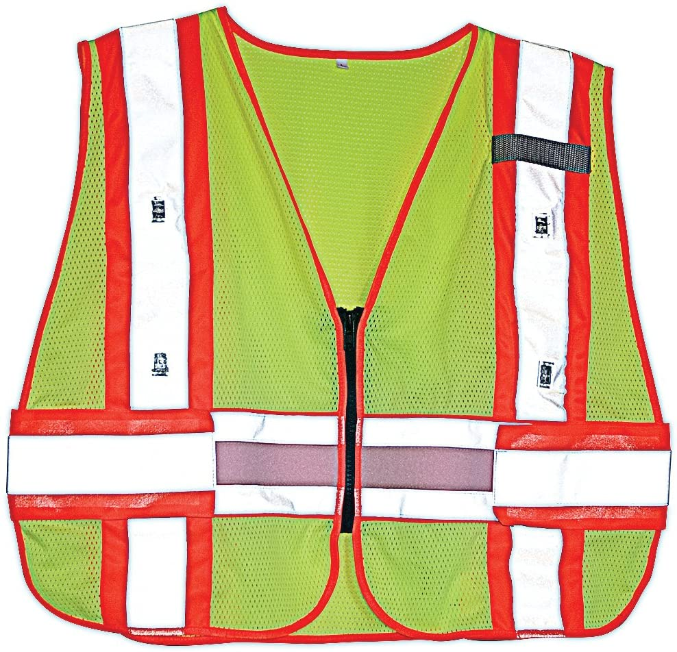 LED Safety Vest, Fl Yellow