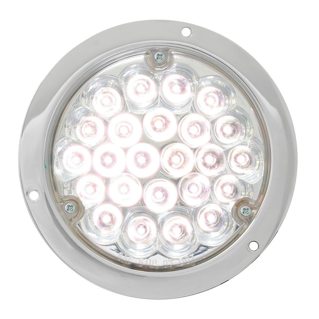 "4"" LED Clear Back Up Light"