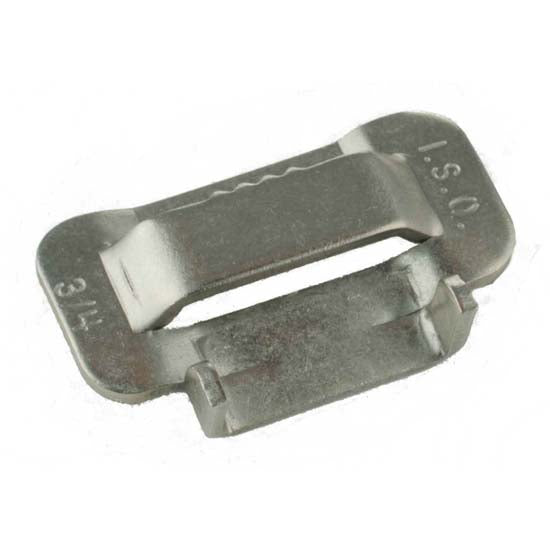 "201 & 304 Stainless Steel Buckles   1/4"" - 3/4"" Widths   100/Box"