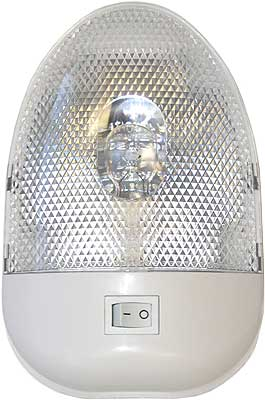 Single Economy EURO INTERIOR DOME LIGHT