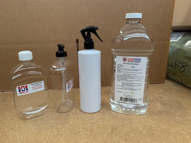 Hand Sanitizer, 2L with 16oz Refillable Bottle