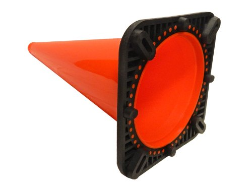 "JBC Revolution Plain Orange 28"" Traffic Cone"