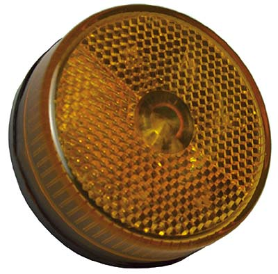 "2-1/2"" Round LED Marker / Clearance Light,  PC Rated, Stud Mount"