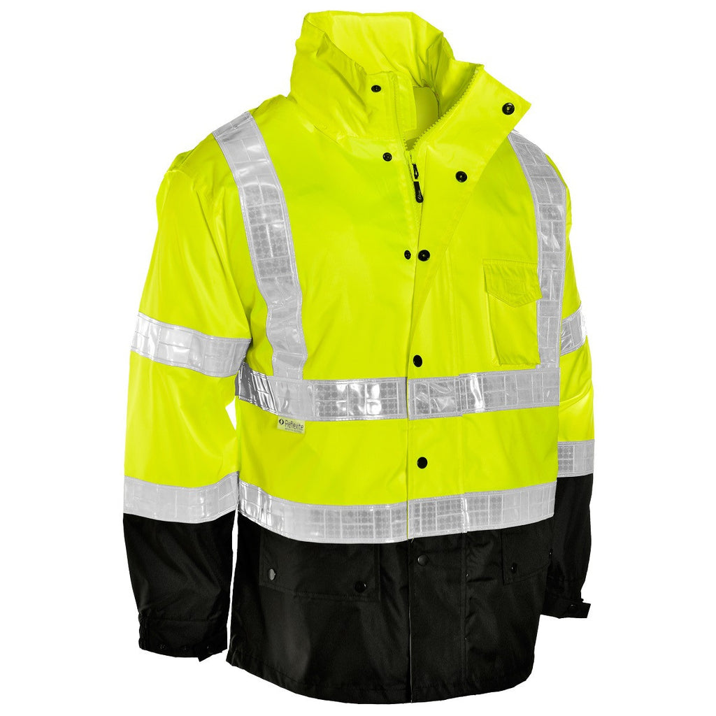 Storm Stopper Pro Rainwear Jacket W/FIRE POLICE on back