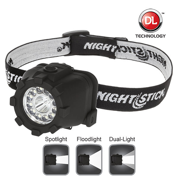 NIGHTSTICK NSP-4606B Dual-Light™ Headlamp