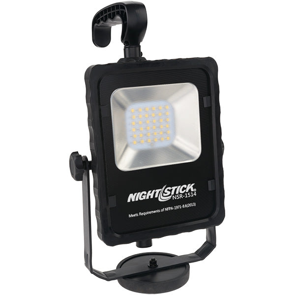 NSR-1514 Rechargeable Led Area Light with Magnetic Base black