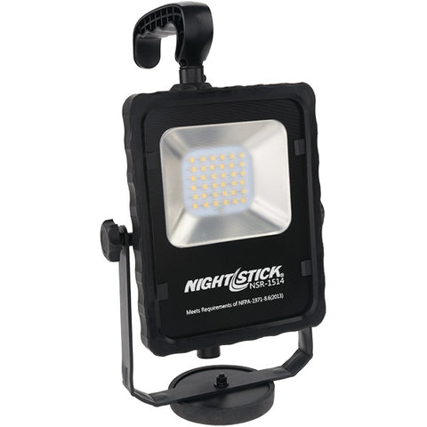 BAYCO Nightstick NSR-1514 Rechargeable Led Area Light with Magnetic Base black