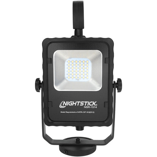NIGHTSTICK NSR-1514 Rechargeable Led Area Light with Magnetic Base black